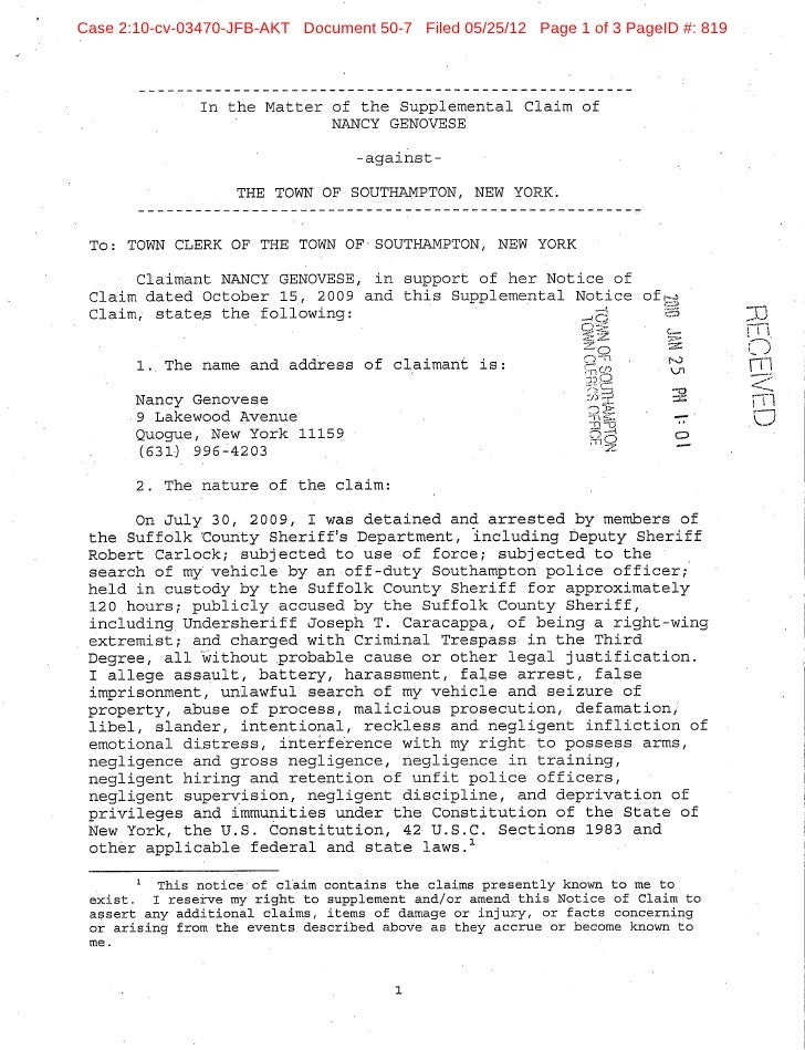 Case 2:10-cv-03470-JFB-AKT Document 50-7 Filed 05/25/12 Page 1 of 3 PageID #: 819