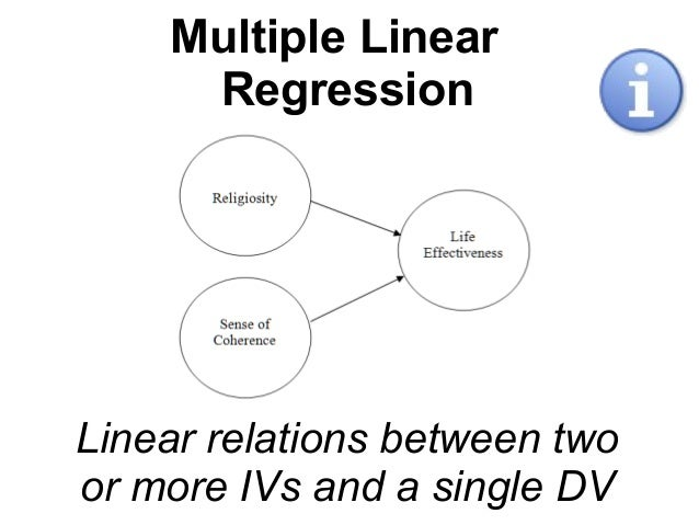 Multiple linear regression research paper
