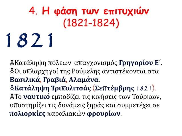 ► Απαγχονισμός Πατριάρχη Γρηγορίου Ε΄  (Απρίλης 1821)