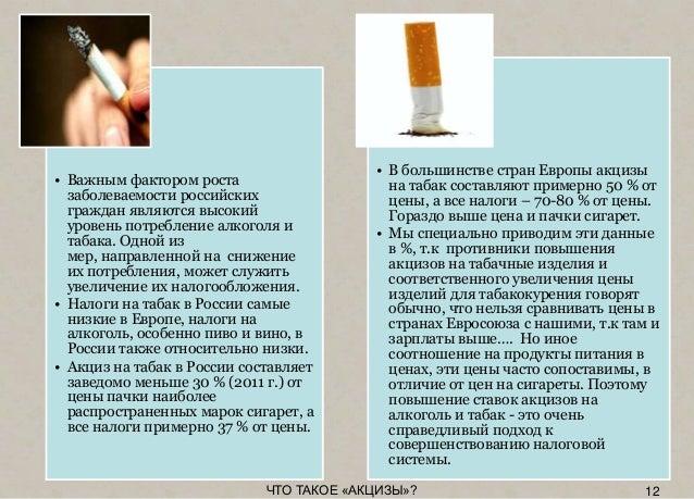 налог на табачные изделия и алкогольные напитки называется