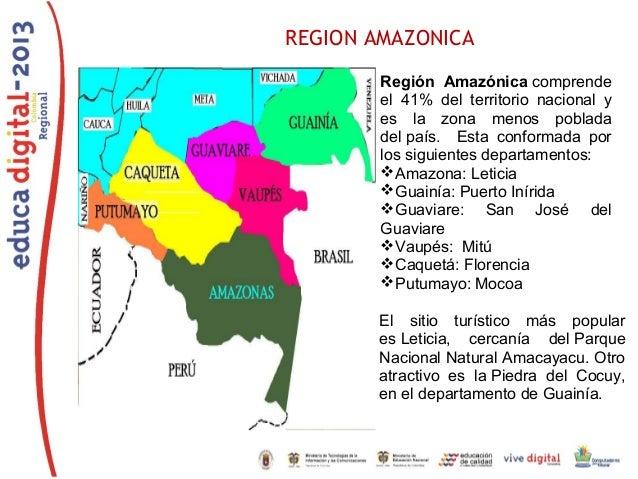 Reconociendo Colombia con las TIC