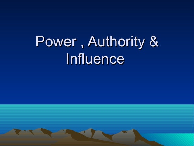power and influence Power and influence [john p kotter] on amazoncom free shipping on qualifying offers in today's complex work world, things no longer get done simply because someone issues an order and.