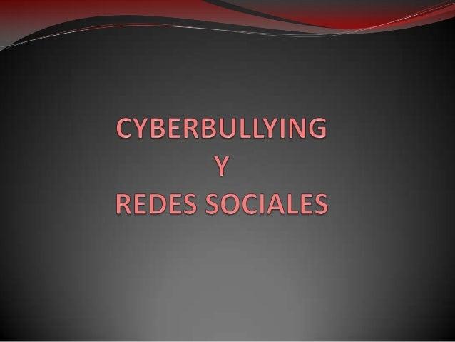 ¿Qué es el cyberbullying? El cyberbullying es el uso de los  medios  telemáticos  (Internet, telefonía móvil y videojuegos...