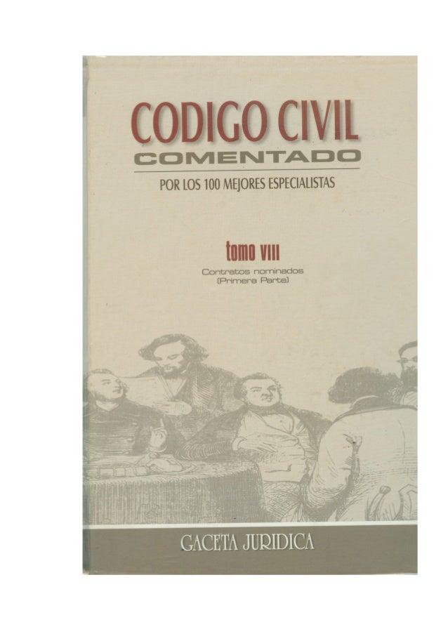 INDICE 1. Autores De Este Tomo 2. Abreviaturas De Las Concordancias 3. ARTÍCULO 1529 Definición De Contrato De Compraventa...
