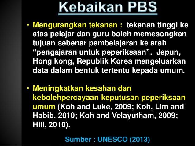  KPM juga akan menambah secara sistematik bilangan soalan KBAT dalam PBS dan peperiksaan awam.  Soalan ini akan berasask...