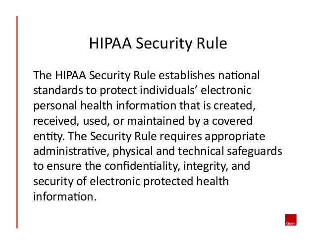 hipaa security rule for mobile devices Patient privacy } avoid these hipaa land mines involving your  the hipaa security rule  making it simple to take photographs with mobile devices.