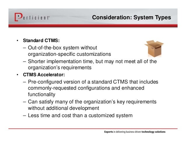 The Abcs Of Clinical Trial Management Systems