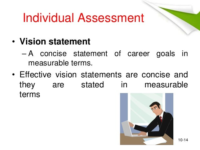 career vision statement