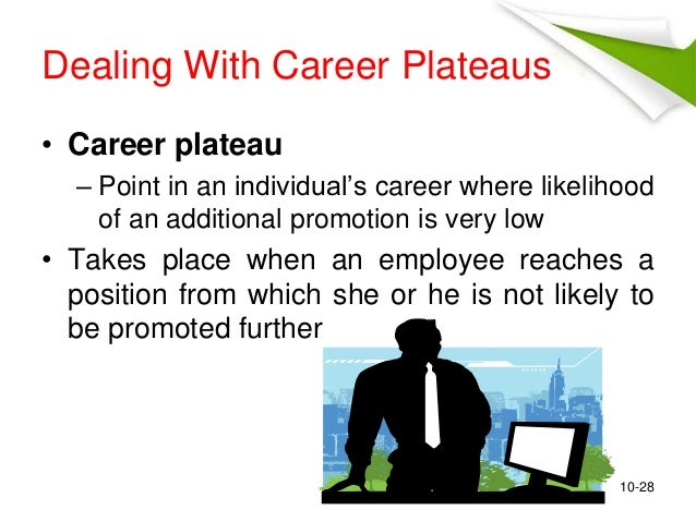 a study of career plateau in The purpose of this study was to distinguish different forms of career plateau (hierarchical and job content plateaus.
