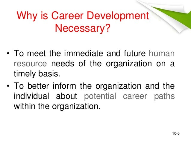 why is career development important to an organization