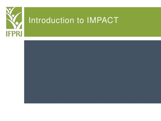 Introduction to IMPACT