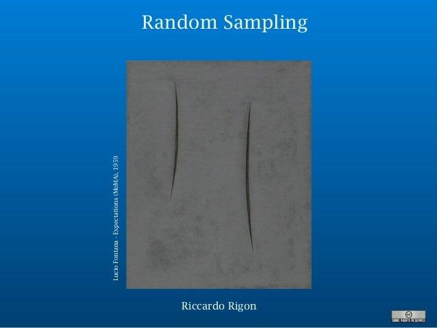 Random Sampling LucioFontana-Expectations(MoMA),1959 Riccardo Rigon