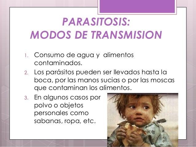 Si son descubiertos los parásitos donde se dirigirá