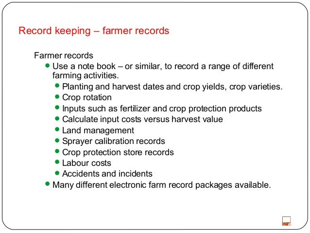 FARM RECORD KEEPING PDF DOWNLOAD
