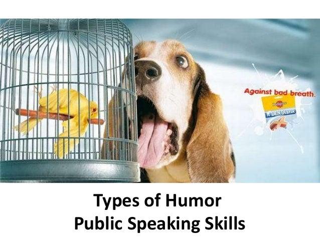 Types of Humor Public Speaking Skills