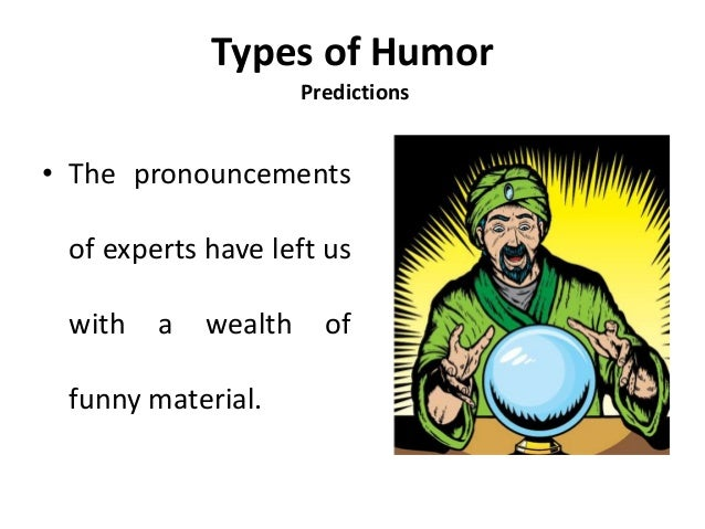 different types of humor