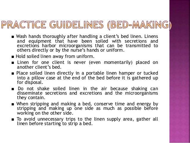 Bed making Slide 3