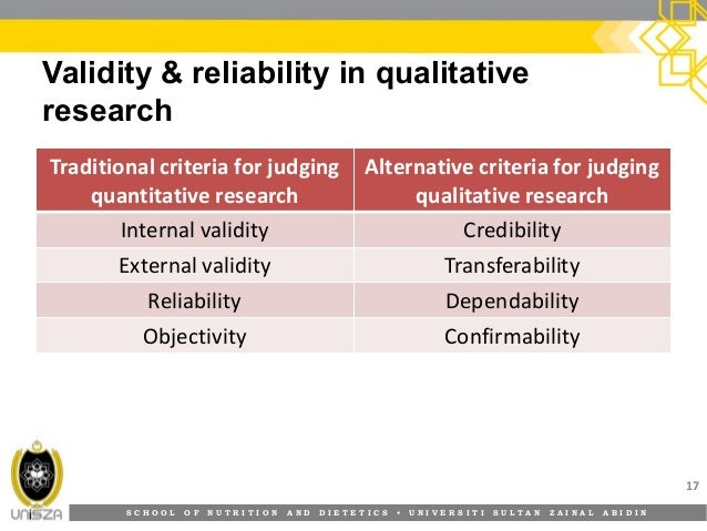 what is validity and reliability in research Threats to validity of research design is one of the major challenges in social science research jeopardizing internal and external validity.