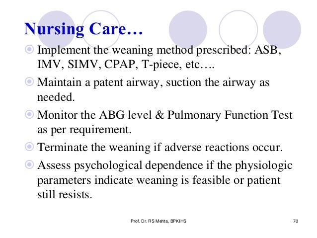 8 Ventilator Nursing Care