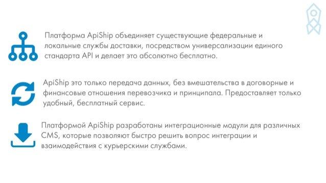 Денис Иванников, ApiShip Slide 2