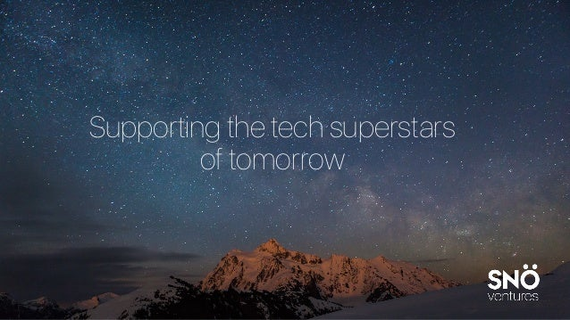 Supporting the tech superstars of tomorrow