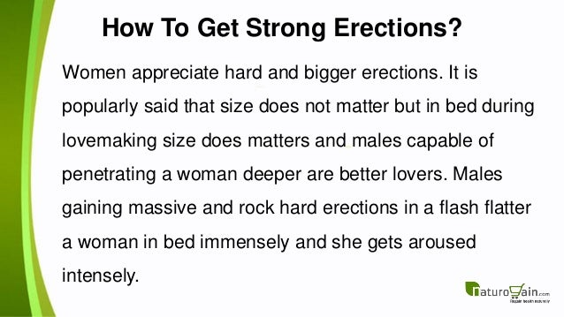 how to have better erections