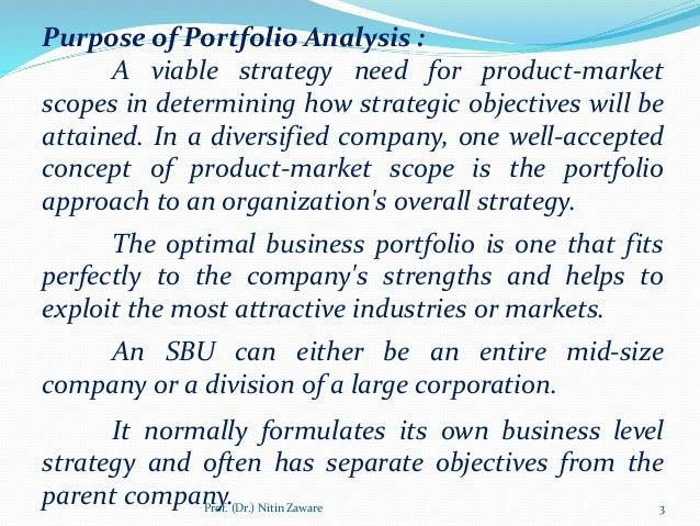 how to make a business portfolio