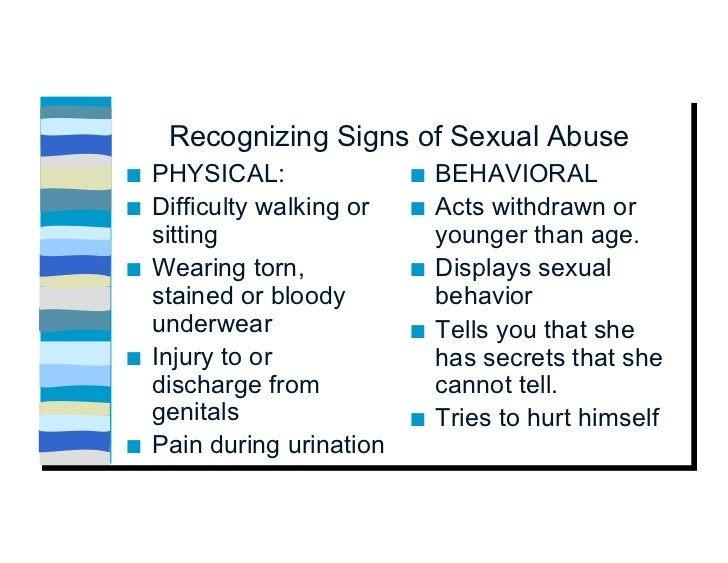 reporting requirements sex abuse ca