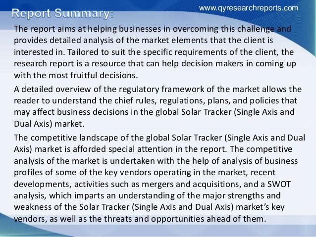 solar tracker market trends and forecasts The industry's most accurate market data and forecasts we aim to be always be the first to react to new trends and changes in the solar industry ihs solar research is supported by the industry's largest team of analysts and provides unrivalled depth, breadth and expertise large global analyst team.