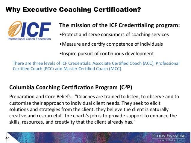 EXECUTIVE COACHING PROGRAMS: BEST PRACTICES, KEY ISSUES, AND TRENDS F…