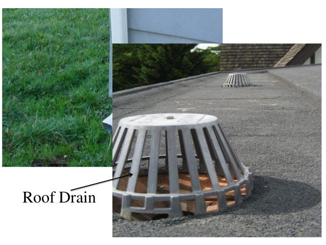Storm Drain Conductor : Roof leader