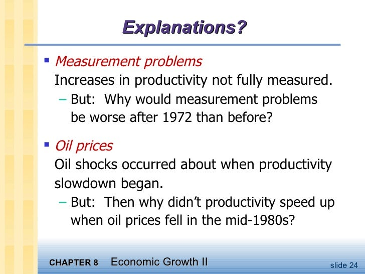 macroeconomics chapter 8 Question history: previous edition, chapter 8 aacsb: reflective thinking 9) the  most direct way in which money eliminates the need for a double coincidence.
