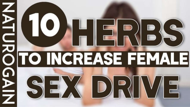 Female increase sex drive