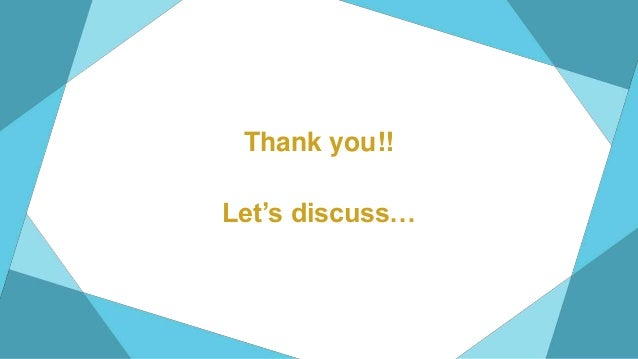 Thank you!! Let's discuss…