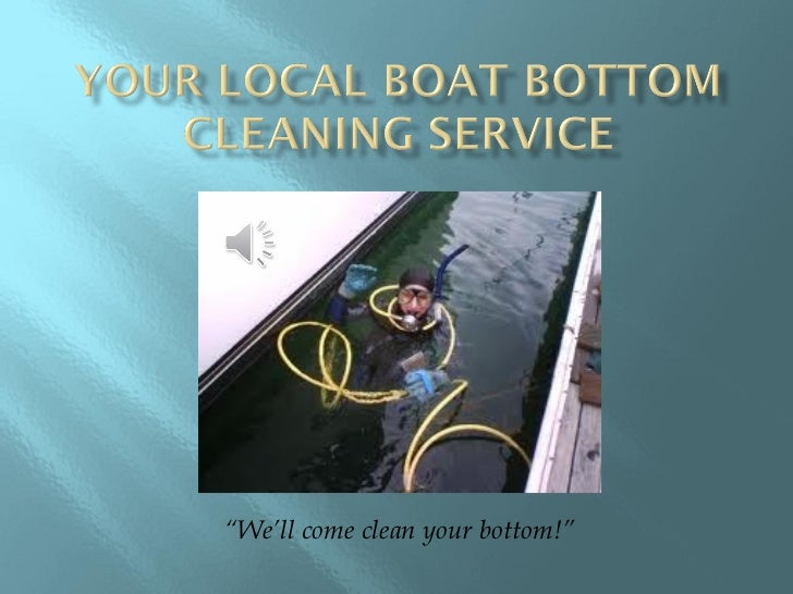 """""""We'll come clean your bottom!"""""""