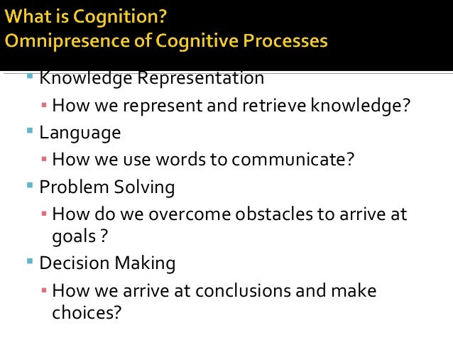  Knowledge Representation ▪ How we represent and retrieve knowledge?  Language ▪ How we use words to communicate?  Prob...