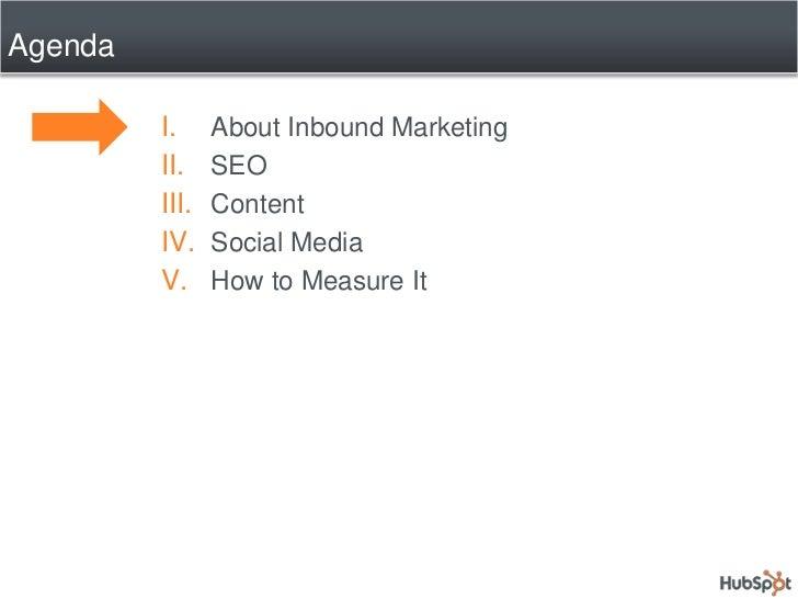 The Secrets of Inbound Marketing Slide 3