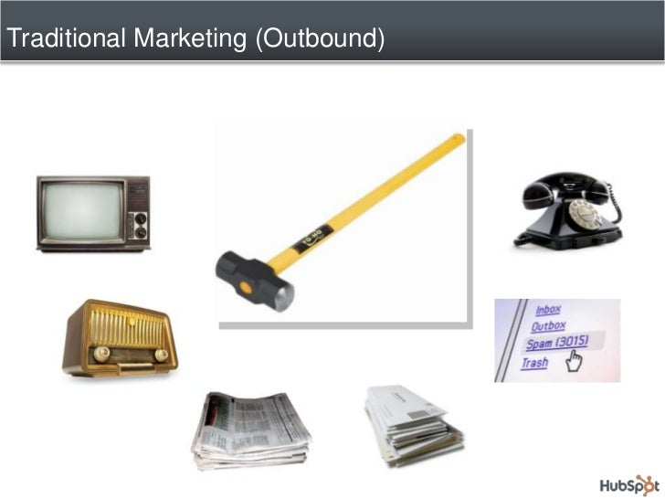 Traditional Marketing (Outbound)<br />