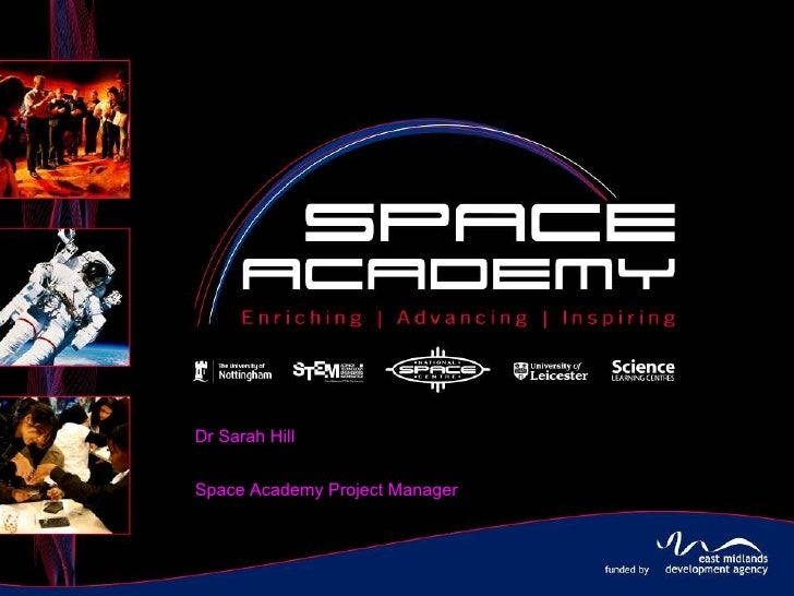 Dr Sarah Hill Space Academy Project Manager