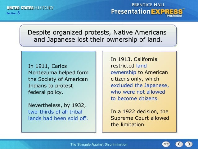 US History Ch  8 Section 3 Notes