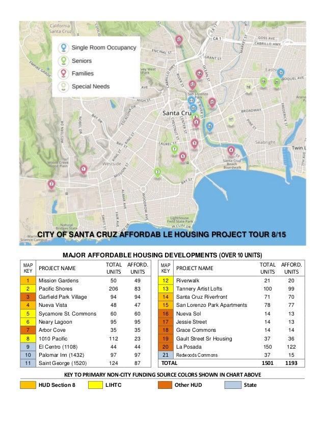 Affordable Housing Tour Santa Cruz