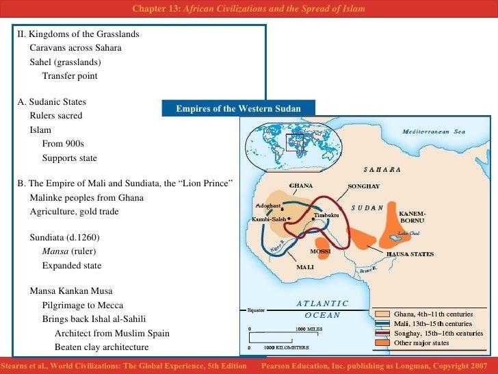 Ghana Mali Songhay The Western Sudan African Kingdoms of the Past