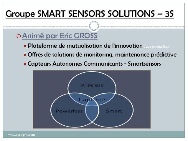 Entreprise Augmentée : Smartsensors, plate-forme de mutualisation de l'innovation Slide 2