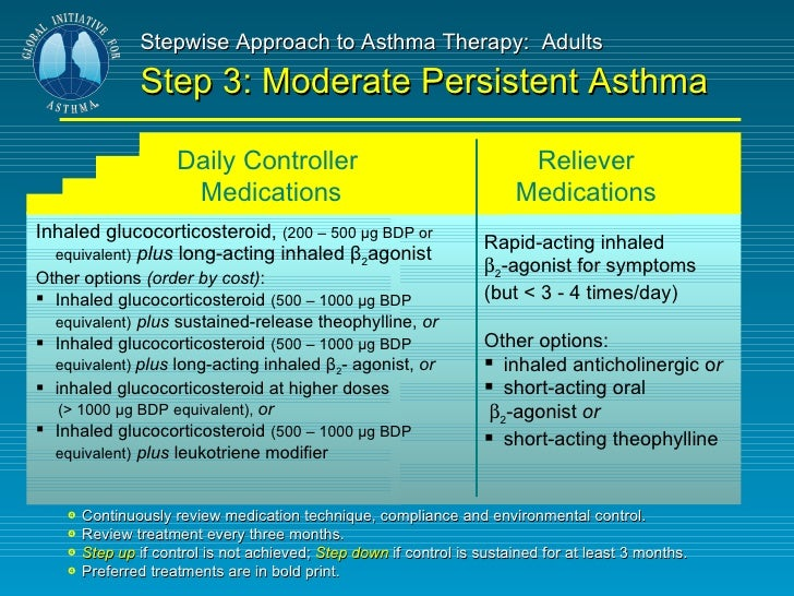 asthma inhalers for adults