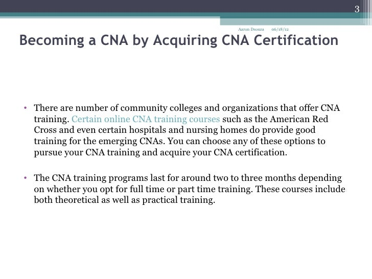 8. becoming a cna by acquiring cna certification, Human Body