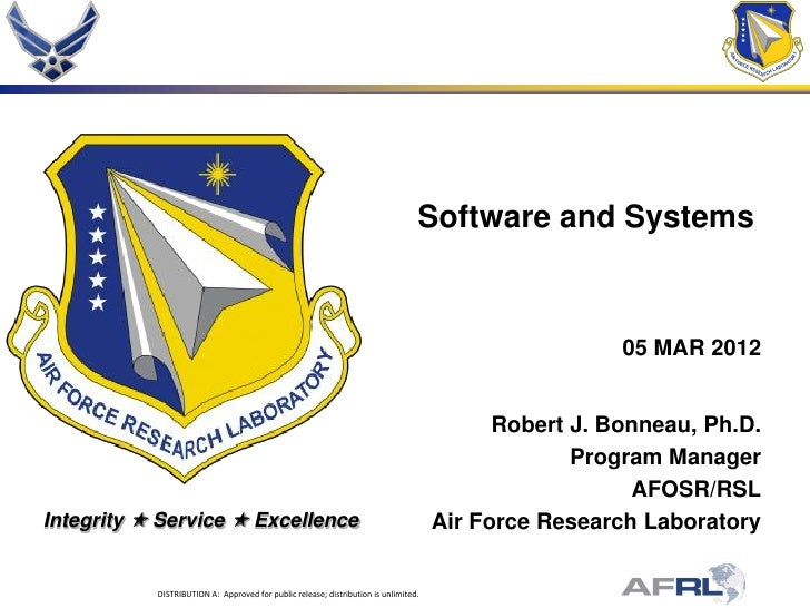 Software and Systems                                                                                                      ...