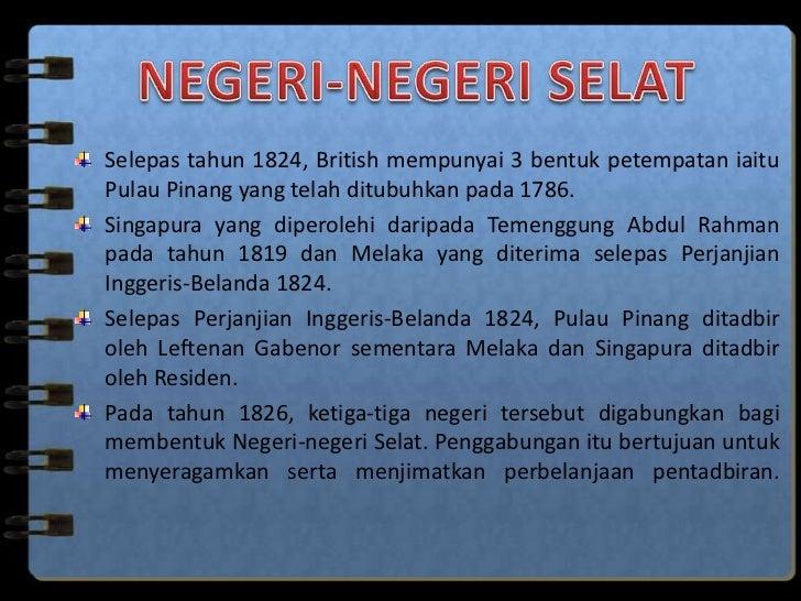 Campurtangan British Di Tanah Melayu 1