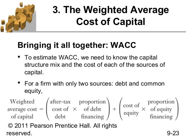 9. cost of capital