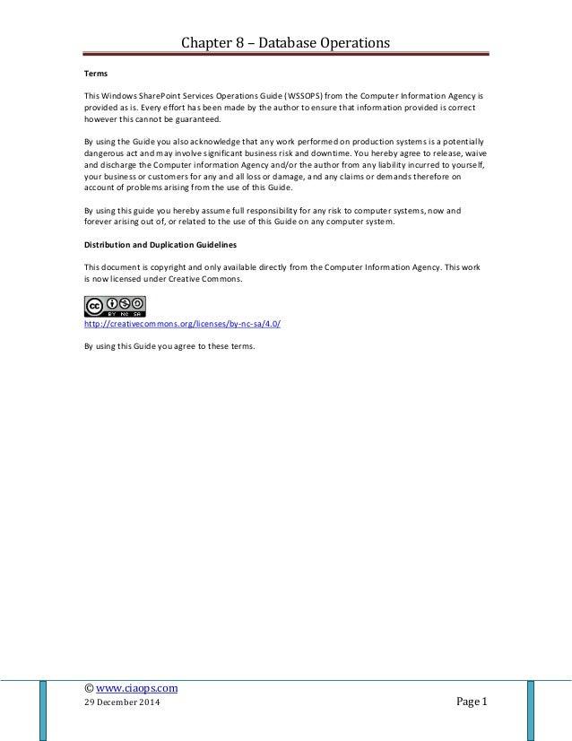 database operations rh slideshare net Microsoft Office 365 Microsoft SharePoint Hosting