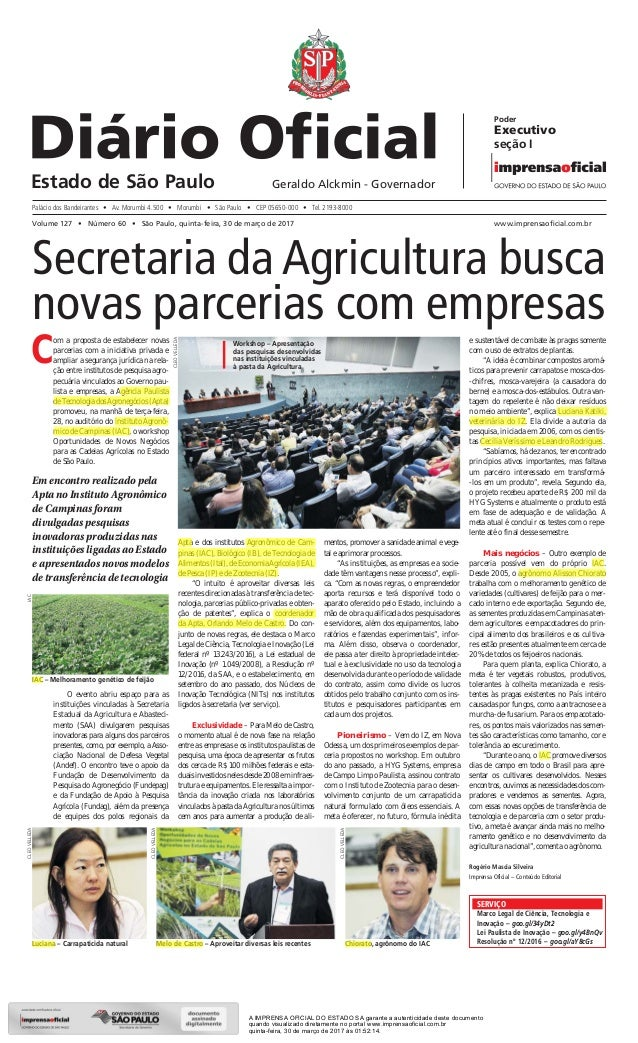 Secretaria da Agricultura busca novas parcerias com empresas Em encontro realizado pela Apta no Instituto Agronômico de Ca...